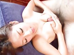 hot milf,mini bikini,busty,cock sucking,tit fuck,cum on tits,asianvideo