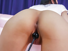 Toys making Ren Azumi moan softly in lovely tonesvideo