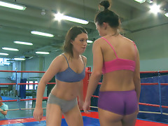 Nude Fight Club presents Tiffany Doll vs Denise Skyvideo